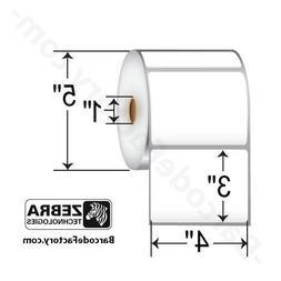 Zebra - 4 x 3 in Direct Thermal Paper Labels, Z-Perform 2000