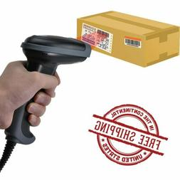 10X Automatic Barcode Scanner Gun Handheld Laser Reader USB