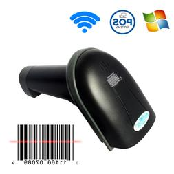 1D 2.4G Wireless Barcode Scanner Support 25 Languages with U