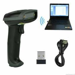 2.4G Wireless Handheld Laser Scan Barcode Scanner Reader POS
