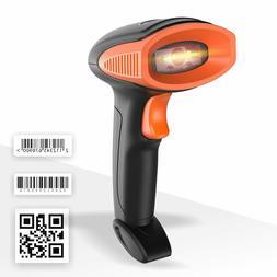 1D/2D Barcode Scanner,Run Mall QR Barcode Scanner Handheld A