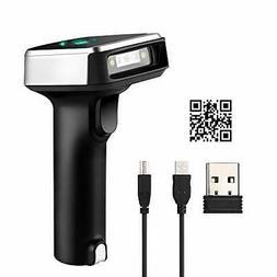 Eyoyo 1D 2D QR Bluetooth Barcode Scanner, 3-in-1 Bluetooth &
