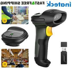 Inateck 1D Wireless Bluetooth Barcode Scanner Gun Bar Code R