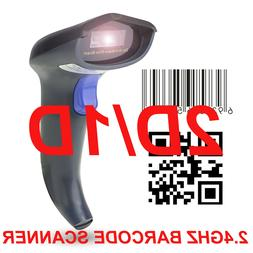 Handheld Barcode Scanner QR CCD Barcode Reader Plug and Play