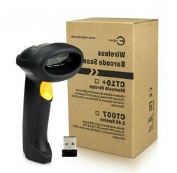 2.4G USB Wireless Cordless Handheld Automatic Laser Barcode