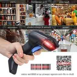 2.4G Wireless Cordless Handheld 1D 2D QR Barcode Bar Code Sc