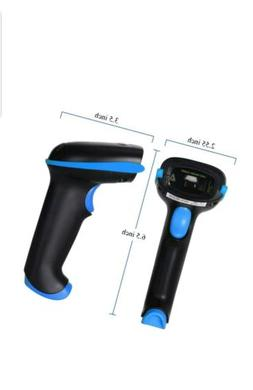 WoneNice 2.4GHz Wireless Barcode Scanner, Portable 2.4GHz Wi