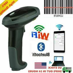 2.4Ghz Wireless Barcode Scanner USB Cordless 1D Laser Barcod