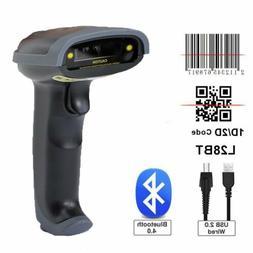 2 4ghz wireless bluetooth barcode scanner usb