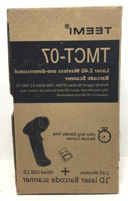 TEEMI 2.4GHZ Wireless USB Automatic Laser Barcode Scanner 2.