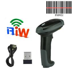 2.4GHz Wireless USB Handheld Laser Barcode Scanner POS Label