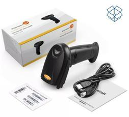 TaoTronics 2-in-1 Bluetooth Barcode Scanner Wireless and Wir