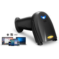 TaoTronics 2-in-1 Bluetooth USB Barcode Scanner Reader Wirel