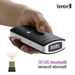 Eyoyo Wireless Bluetooth 2D/1D/QR Scan Barcode Scanner Bar C