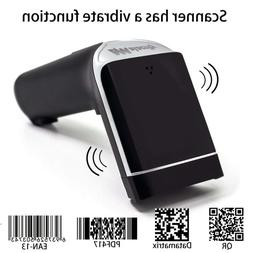 Alacrity 2D Barcode Scanner Wireless USB Portable Bar Code R