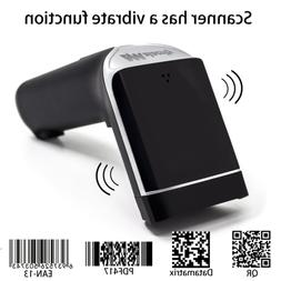 2D Barcode Scanner,alacrity Wireless USB Portable Bar Code S
