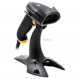 2d barcode scanner with stand usb wired