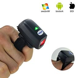 2D Wearable Ring Scanner FS03 Bluetooth Scanners Portable Ba
