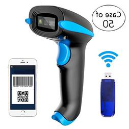 Case of 50,NADAMOO 2D Wireless Barcode Scanner  1D QR PDF4