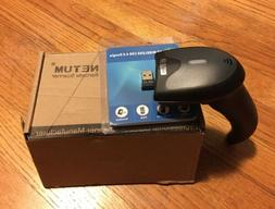NETUM 3-in-1 2.4G Wireless/Wired/Bluetooth 1D/2D Wireless Ba