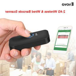 Eyoyo 3 in 1 Bluetooth Barcode Scanner Reader 1D Screen Scan