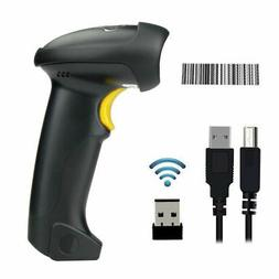 920 Portable Wireless Laser USB Barcode Scanner Scan Gun Lab