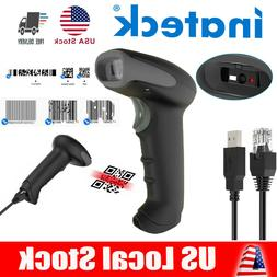 Inateck Automatic 2D Bluetooth Barcode Scanner Gun Handheld