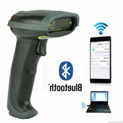 Wireless Bluetooth Barcode Scanner Handheld USB Receiver Las
