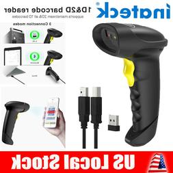Inateck Automatic Laser Bluetooth Wireless Barcode Scanner G