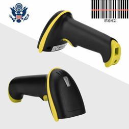 Automatic Laser Handheld Barcode Scanner Gun Bar Code Reader