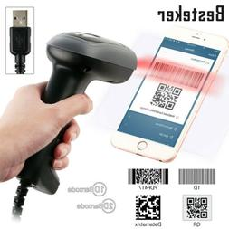 Automatic Laser Handheld Wireless Bluetooth Barcode Scanner