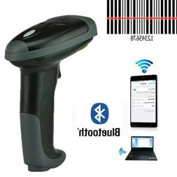 Wireless Bluetooth Barcode Scanner 2 in 1 Barcode Reader For