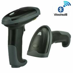 Automatic Wireless Bluetooth Barcode Scanner Gun Laser Reade