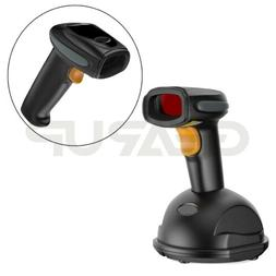 Automatic Wireless/Wired Bluetooth Barcode Scanner Gun With