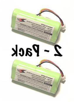 2-Pack ZZcell  Bar Code Scanner Battery For Motorola Symbol