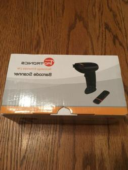 TaoTronics Barcode Scanner 2-in-1 Bluetooth and Wired Bar Co