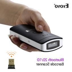 Eyoyo Wireless Bluetooth 2D/1D/QR Scan Barcode Scanner Bar C