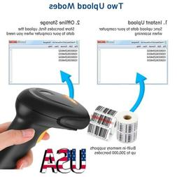 Barcode Scanner 3-In-1 2.4Ghz Wireless & Usb2.0 Wired Hand H