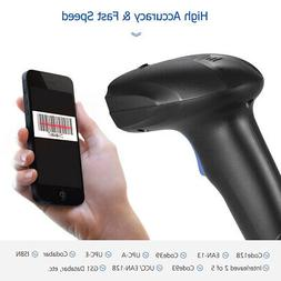 Aibecy Barcode Scanner USB Automatic 1D Bar Code Scan Reader