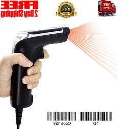 Barcode Scanner,Symcode USB Laser Wired Scan Bar Code Reader