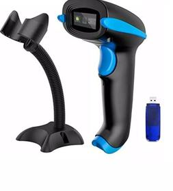 Barcode Scanner With Stand Supports Screen Scan Hand