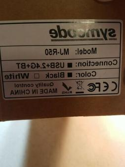 Symcode Black Bluetooth Wireless Barcode Scanner w/ Automati