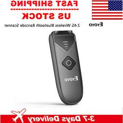 Eyoyo Bluetooth & 2.4G Wireless & USB Wired Barcode Scanner
