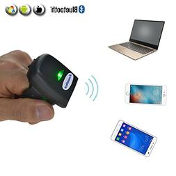 1D Wearable Ring Scanner Bluetooth Barcode Scanner FS03 Mini