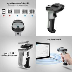 Inateck Bluetooth Barcode Scanner, Working Time Approx. 15 D