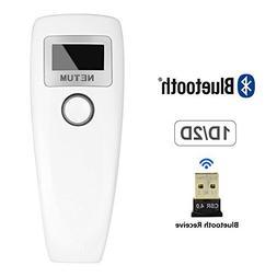 NETUM Bluetooth QR 2D Barcode Scanner Wireless Bar Code Read