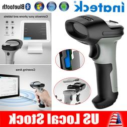Inateck Barcode Scanner Bluetooth Wireless Laser USB Handhel