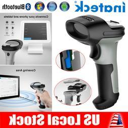Inateck Barcode Scanner Bluetooth Wireless Laser USB Handhel
