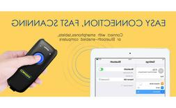 Nadamoo Bur3076 3-in-1 Wireless Bluetooth Barcode Scanner -