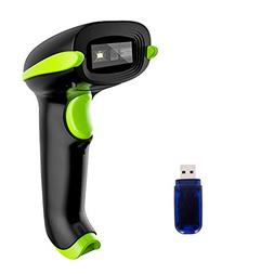 Case of 50, NADAMOO 2D Wireless Barcode Scanner, Work With S